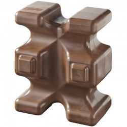 Easy Cube d'obstacle Chocolat
